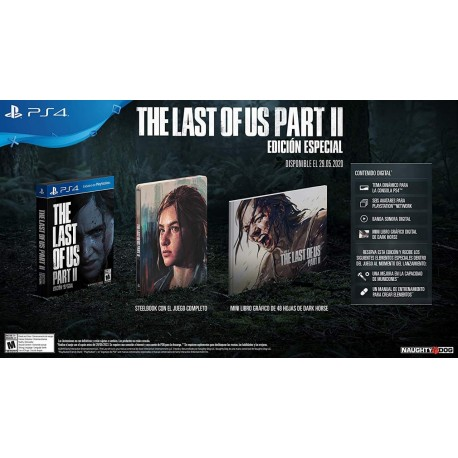 The Last of Us Part II: Epecial Edition PS4
