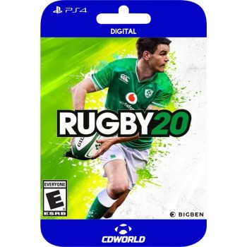 Rugby 20 PS4 DIGITAL