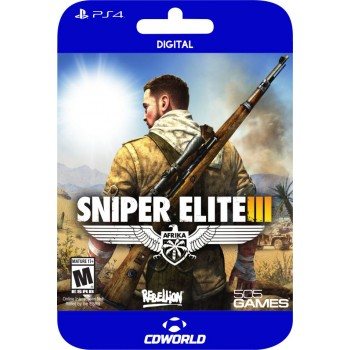 Sniper Elite 3 PS4 DIGITAL