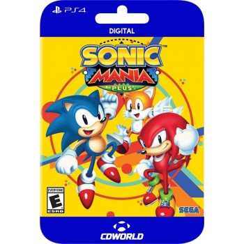 Sonic Mania PS4 DIGITAL