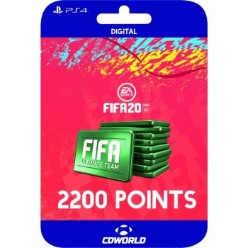 FIFA 20 2200 POINTS PS4...
