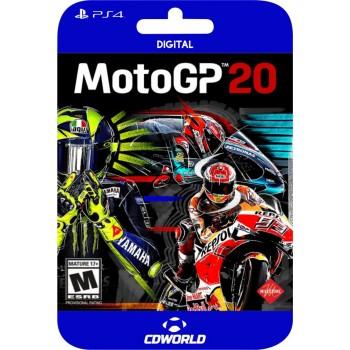 Moto GP 20 PS4 Digital