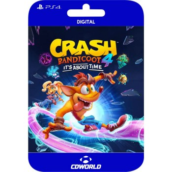 CRASH BANDICOOT IT´S ABOUT...