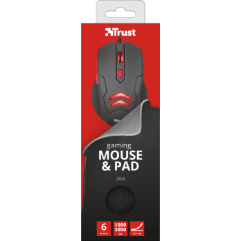 Mouse Ziva Gaming + Mouse...