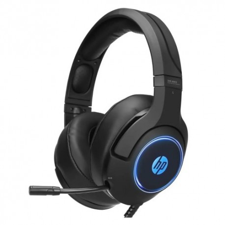 AURICULAR HP DHE-8003B USB, 7.1 SOUND WITH LED PC