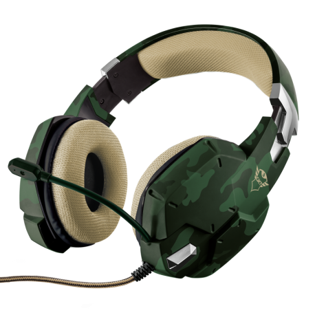 TRUST AURICULAR GXT 322C CARUS GREEN CAMOUFLAGE (PS4/ XBoxOne/ PC /Switch)