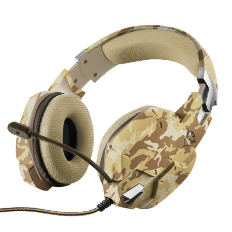 TRUST AURICULAR GXT 322D CARUS DESERT CAMOUFLAGE (PS4/ XBoxOne/ PC /Switch)