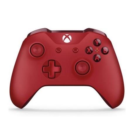 Xbox One S Joystick Wireless Rojo