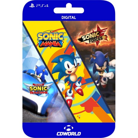 Sonic Triple Pack