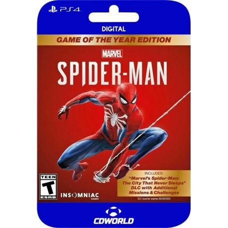 Marvel's Spiderman: GOTY Edition