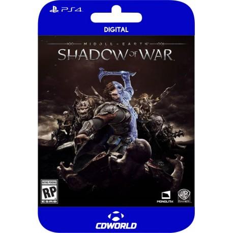 Middle-earth: Shadow of War  PS4 DIGITAL