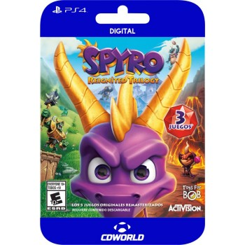 SPYRO REIGNITED TRILOGY PS4...
