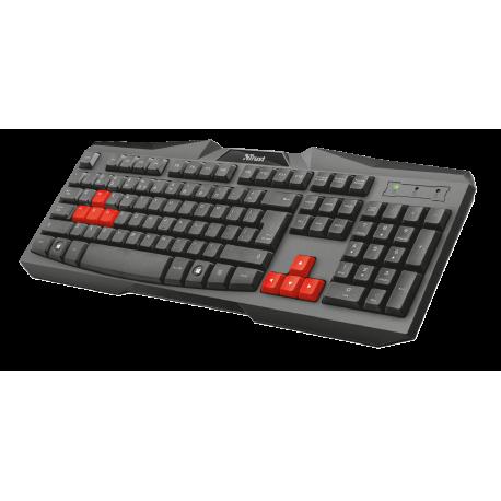 TECLADO Ziva Gaming Keyboard ES