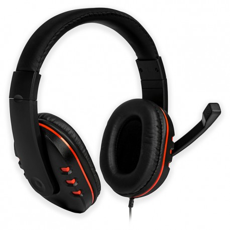 AURICULAR Gaming Headset FGH100 ROJO PS4/PC