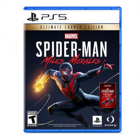 PREVENTA SPIDER-MAN: MILES MORALES ULTIMATE EDITION PS5