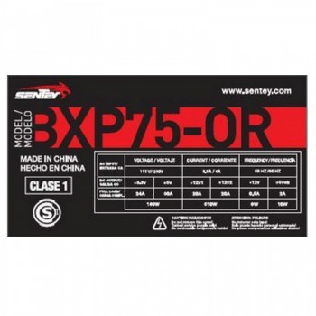 FUENTE SENTEY 750W BXP75-OR...