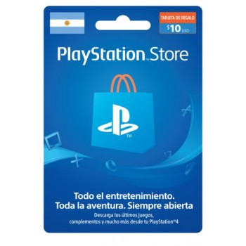 PSN CARD 10USD ARGENTINA