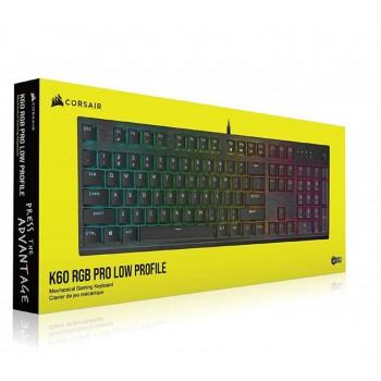 Teclado Corsair K60 RGB PRO...