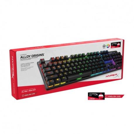 Teclado HyperX Alloy Origins RGB Mechanical Gaming HyperX Switch