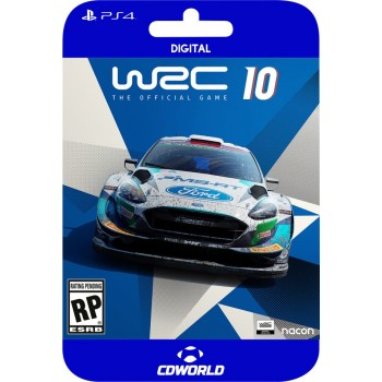 WRC 10 PS4 + PS5